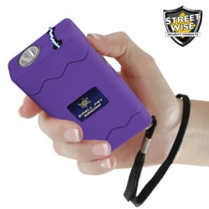 purple electric stun gun small fry