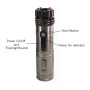 zaplight stun gun tactical flashlight