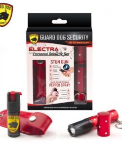 guard dog security electra personal security set red