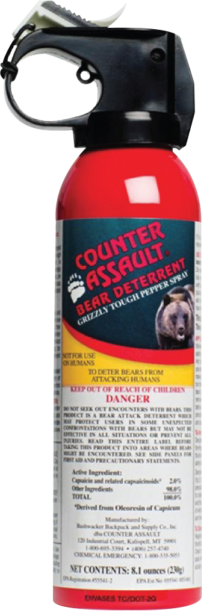 bear spray defense