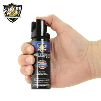 non lethal pepper spray weapon