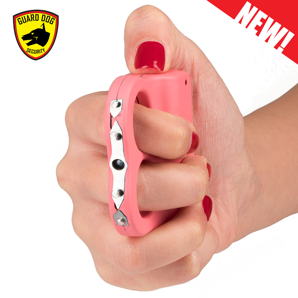 pink personal protection weapon grip