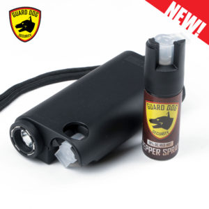 electric stun gun black