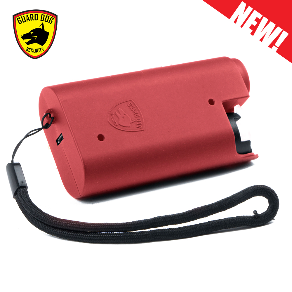 personal protection weapons red