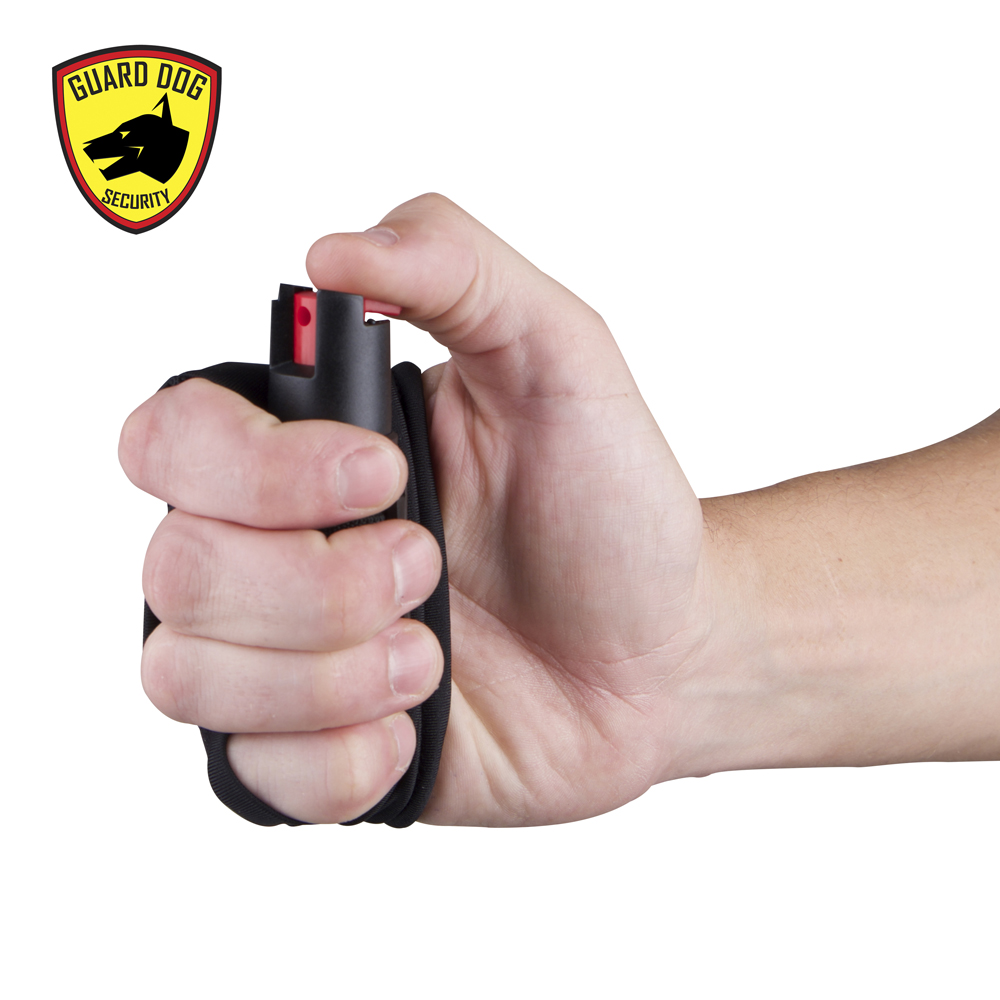knuckle pepper spray active
