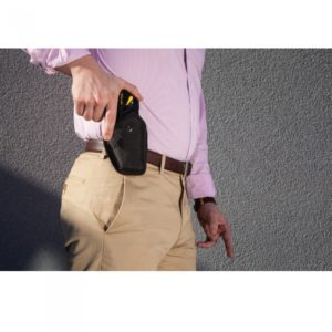 Holstered Taser Pulse with Strap