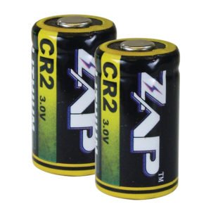 Lithium Ion cr2 zap batteries