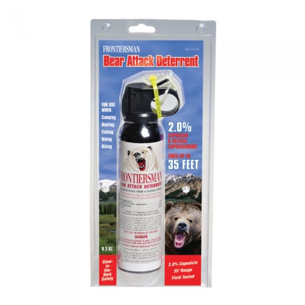 Sabre Frontiersman Ultra Hot Bear Pepper Spray Package