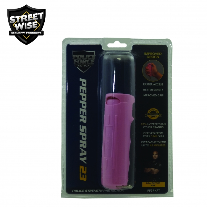 purple personal protection weapon packaging