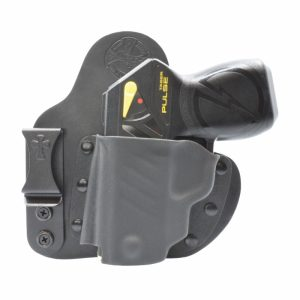 taser pulse pistol left hand holster